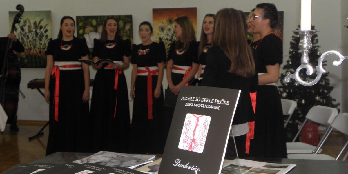 Promocija zbirke napjeva Pozvale so dekle dečke