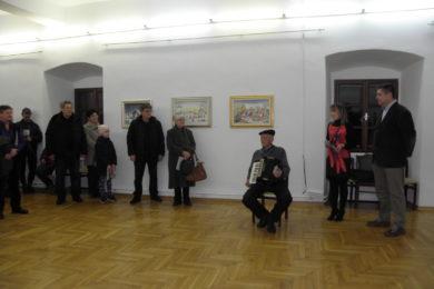 Otvorenje izložbe Petra Petrovića