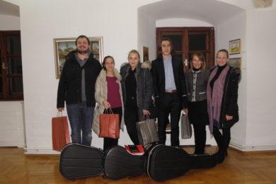 Održan gitaristički koncert polaznika Umjetničke škole Fortunat Pintarić
