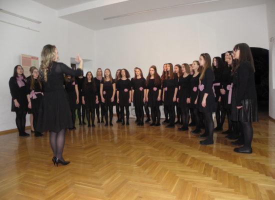 """Večer vokalne glazbe""  u salonu Muzeja Grada Đurđevca"