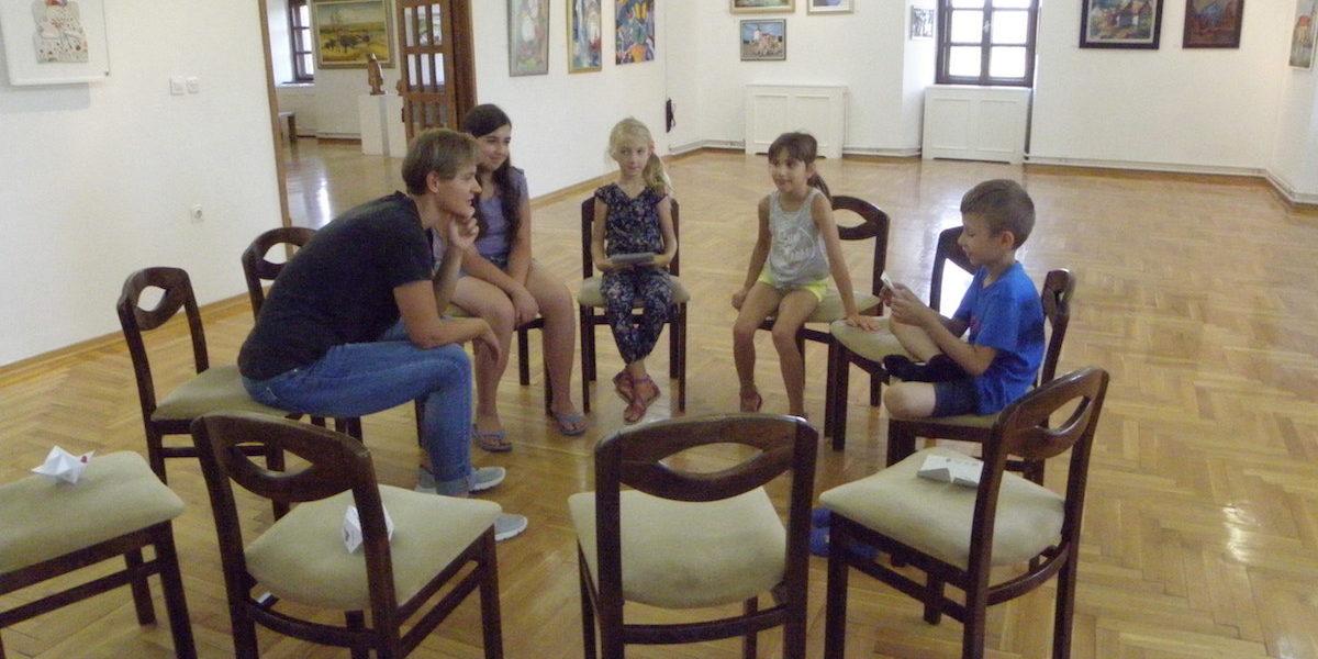 Ljetna družionica u Muzeju Grada Đurđevca – Potraga za slikama