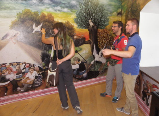 Talijanski novinari Caldovino Beatrice i Barbieri Valerio posjetili utvrdu Stari Grad i Muzej Grada Đurđevca
