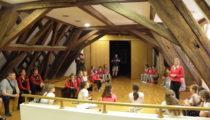 Muzej Grada Đurđevca posjetile sudionice Prvenstva Hrvatske u mini košarci