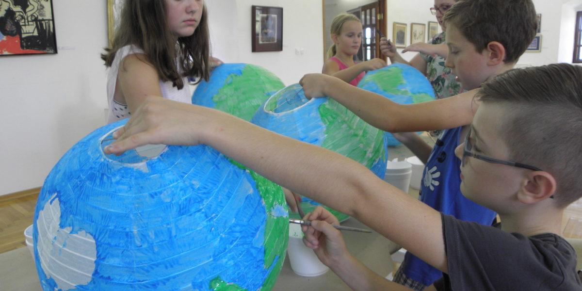Održana ljetna družionica – Izradimo vlastiti globus
