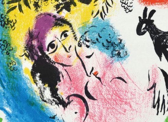 """Marc Chagall """"Stvaranje i Biblija"""""""