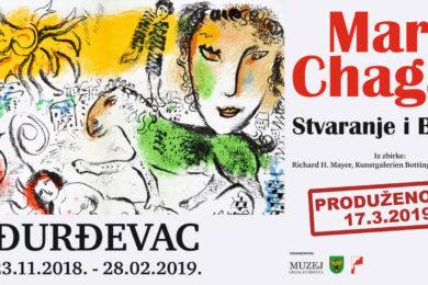 """Produžena izložba Marca Chagalla """"Stvaranje i Biblija"""""""