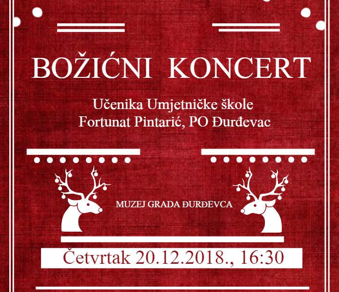 """Koncert učenika Umjetničke škole """"Fortunat Pintarić"""", PO Đurđevac"""
