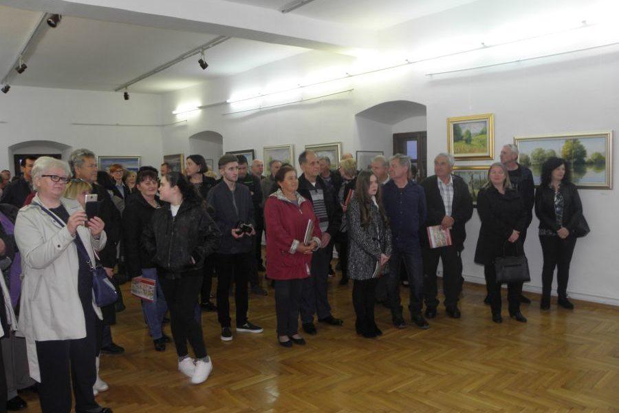"""Otvorena izložba Udruge """"Peski-Art"""", Đurđevac"""