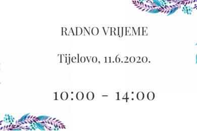 Radno vrijeme muzeja na blagdan Tijelovo