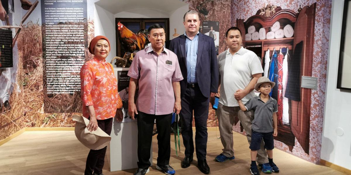 Posjet djelatnika Veleposlanstva Republike Indonezije Muzeju Grada Đurđevca