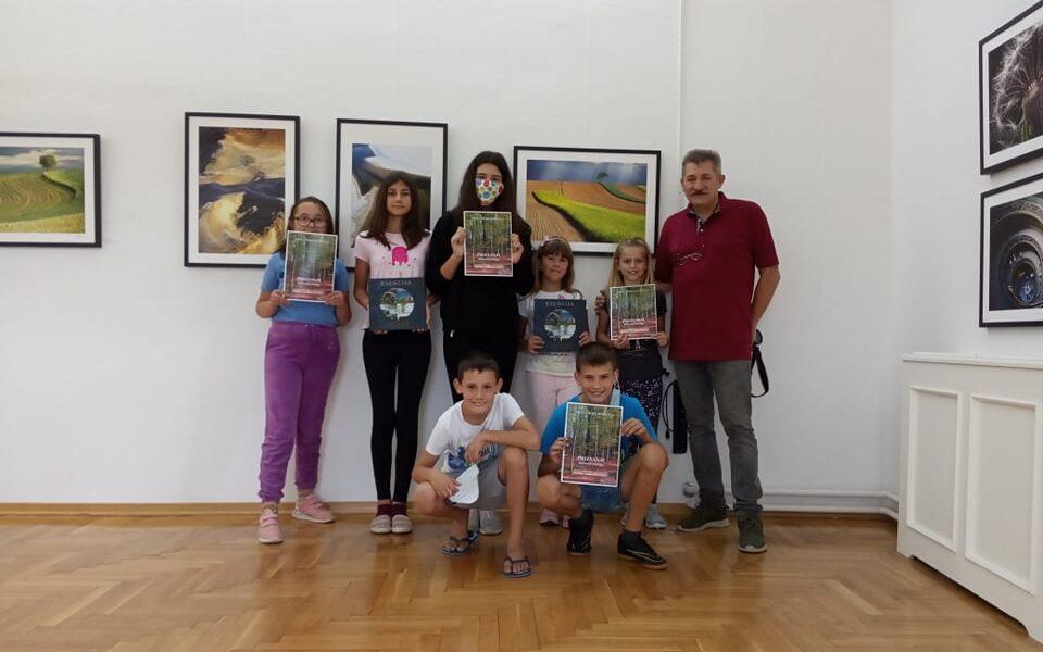 Djeca u Muzeju Grada Đurđevca učila o rijeci Dravi te šumama i livadama našeg zavičaja