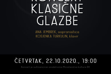 Koncert klasične glazbe u Muzeju Grada Đurđevca