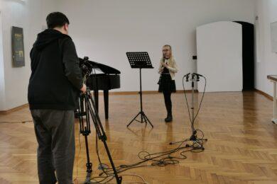 U Muzeju Grada Đurđevca održana produkcija polaznika Umjetničke škole Fortunat Pintarić Koprivnica, PO Đurđevac