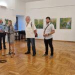 Otvorena izložba slika Velimira Trnskog u Muzeju Grada Đurđevca
