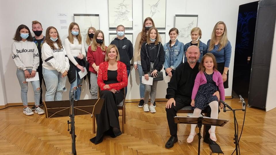 Duo Gitarazamezzo gostovao u Muzeju Grada Đurđevca
