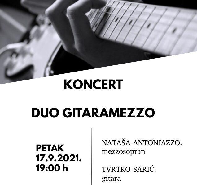 Koncert dua Gitaramezzo u Muzeju Grada Đurđevca