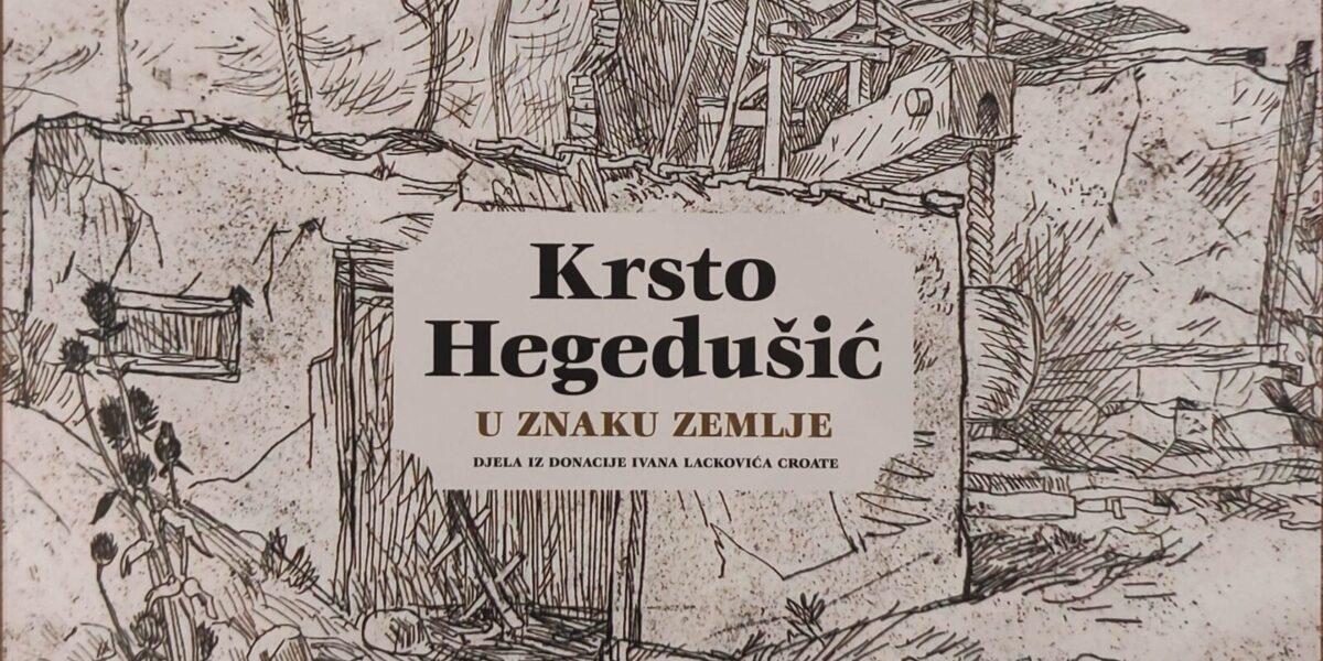 U Muzeju Grada Đurđevca otvorena je izložba Krste Hegedušića
